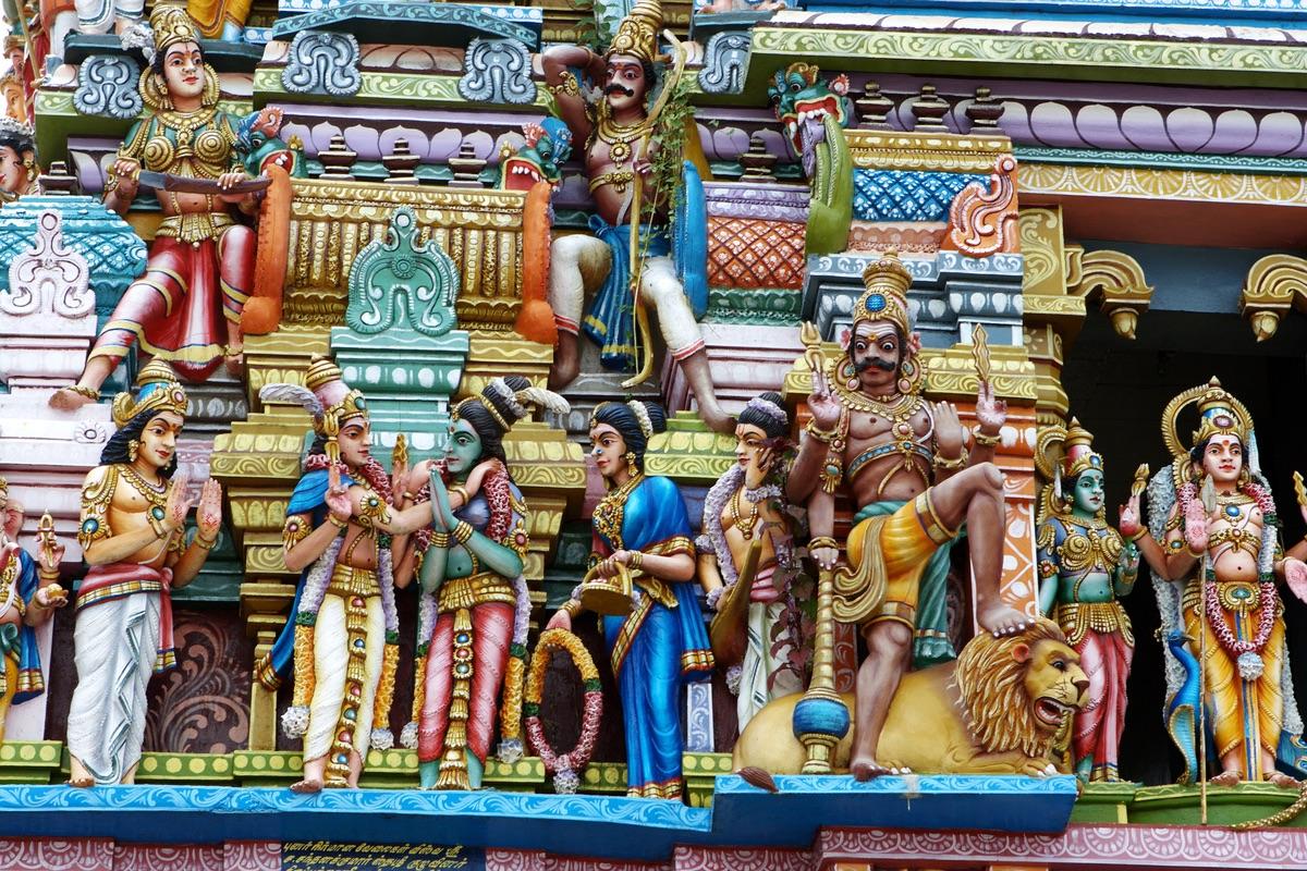 Depositphotos_1730724_индуистский храм в Коломбо, Шри-Ланка — Фото автора andreyuu