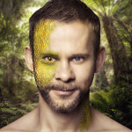 """Dominic Monaghan """"Under The Skin"""" campaign image"""