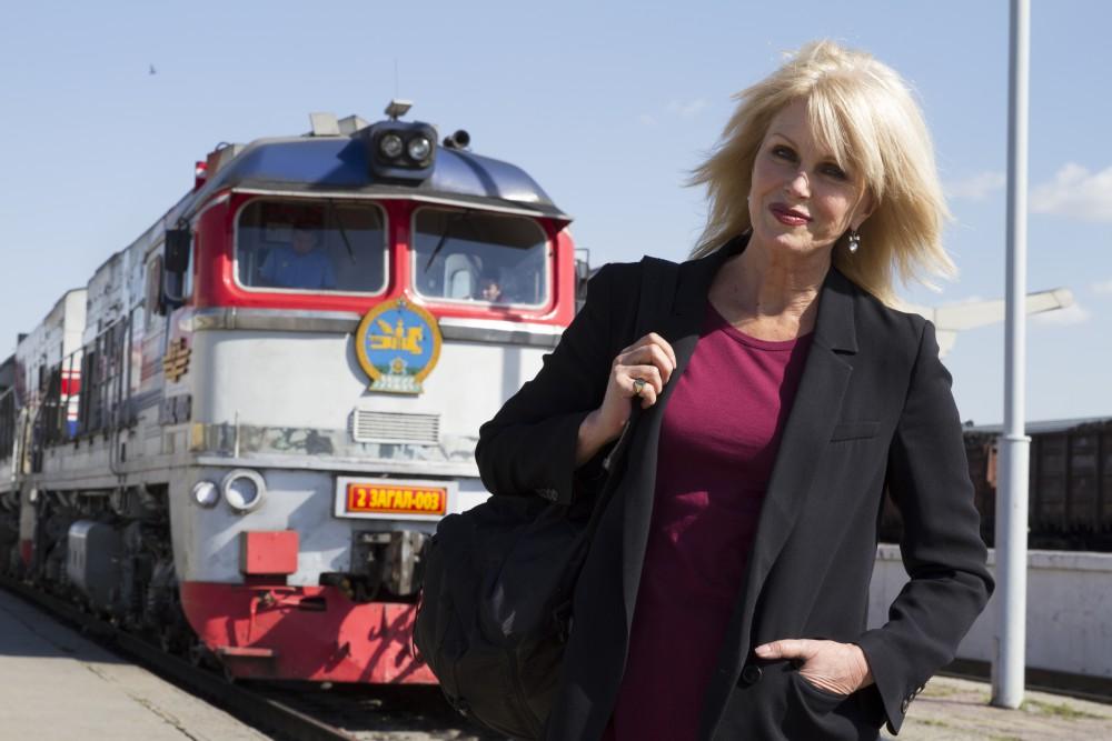 Episode Two - Joanna Lumley in Ulaanbaatar, Mongolia, next to Trans-Siberian Railway