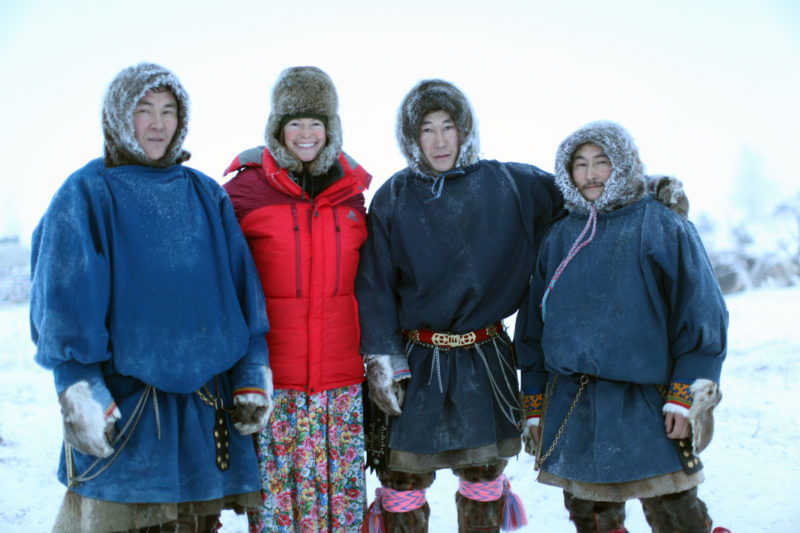 kate-standing-with-nenets-men